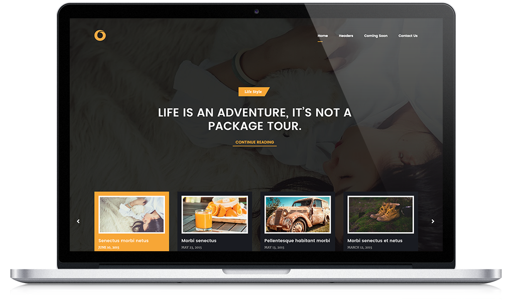 Dot Blog - WordPress Theme by HighThemes