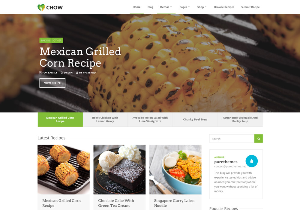 Chow_food_wordpress_theme