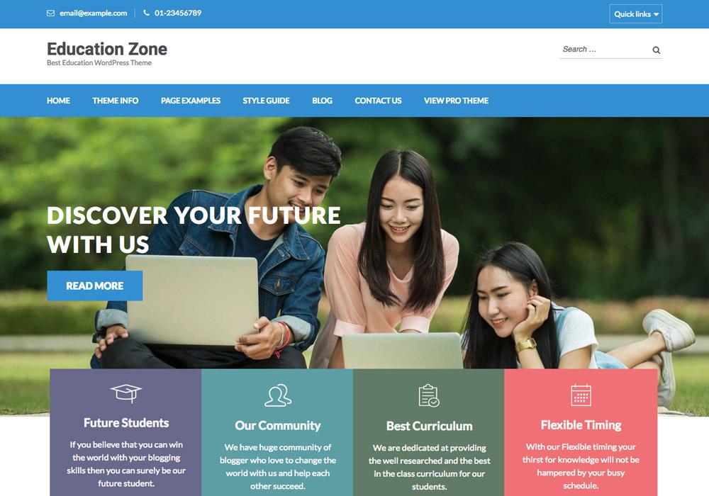 Free WordPress School Themes