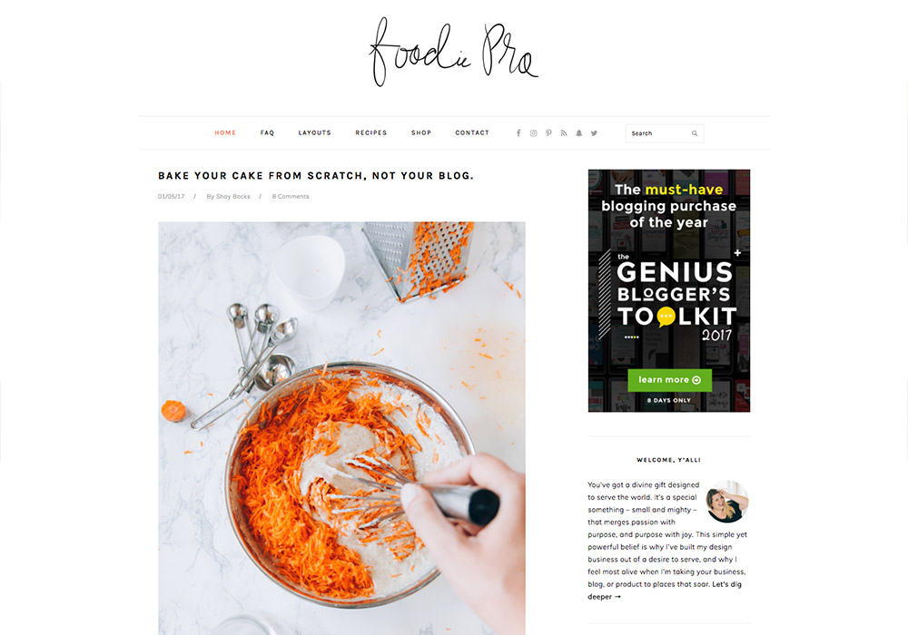 Foodie_food_wordpress_theme