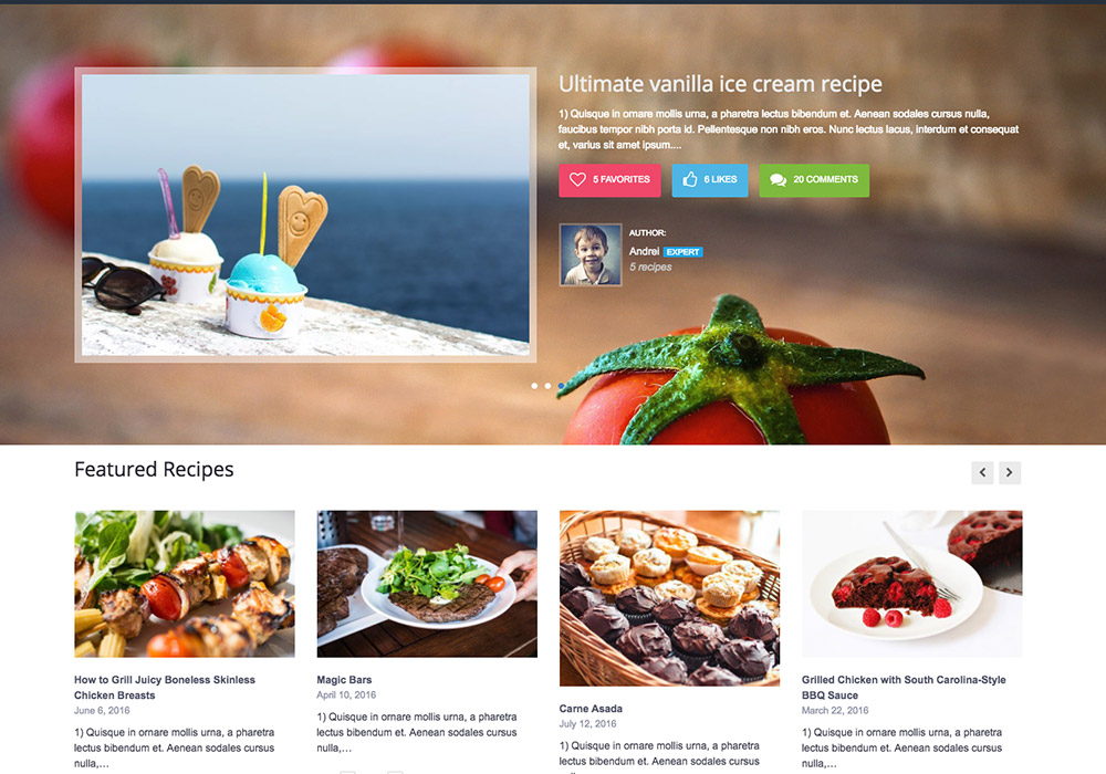 Gustos_food_wordpress_theme
