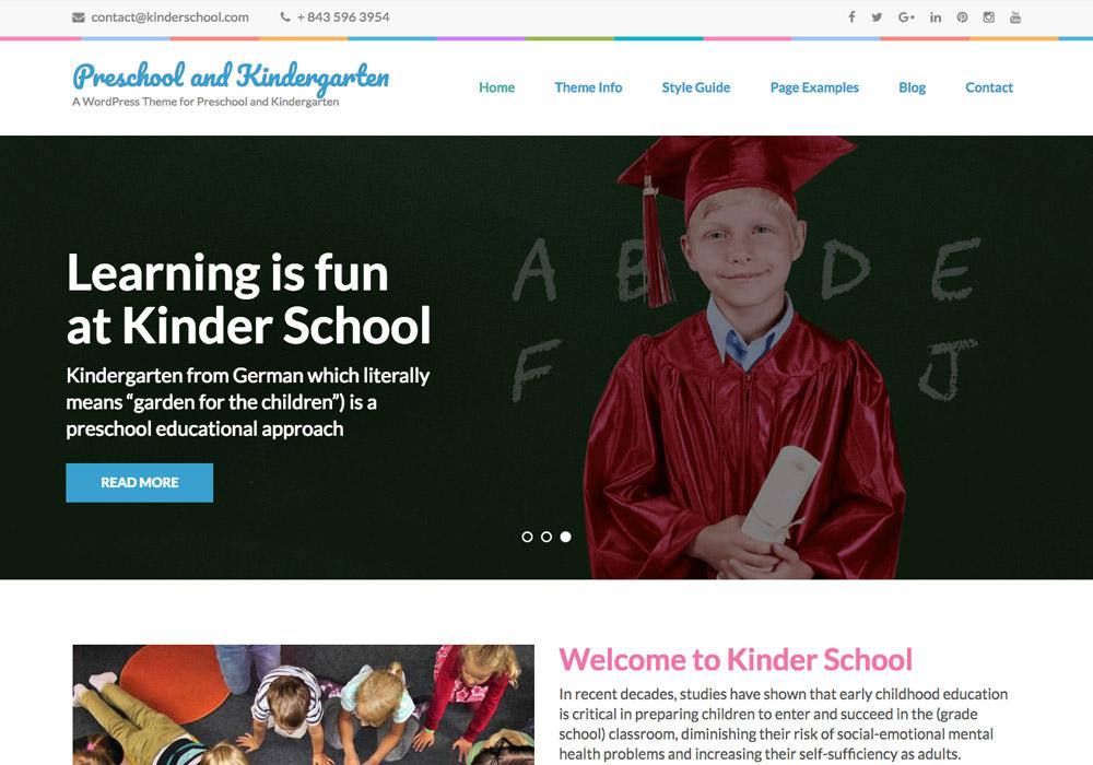 WordPress School Themes