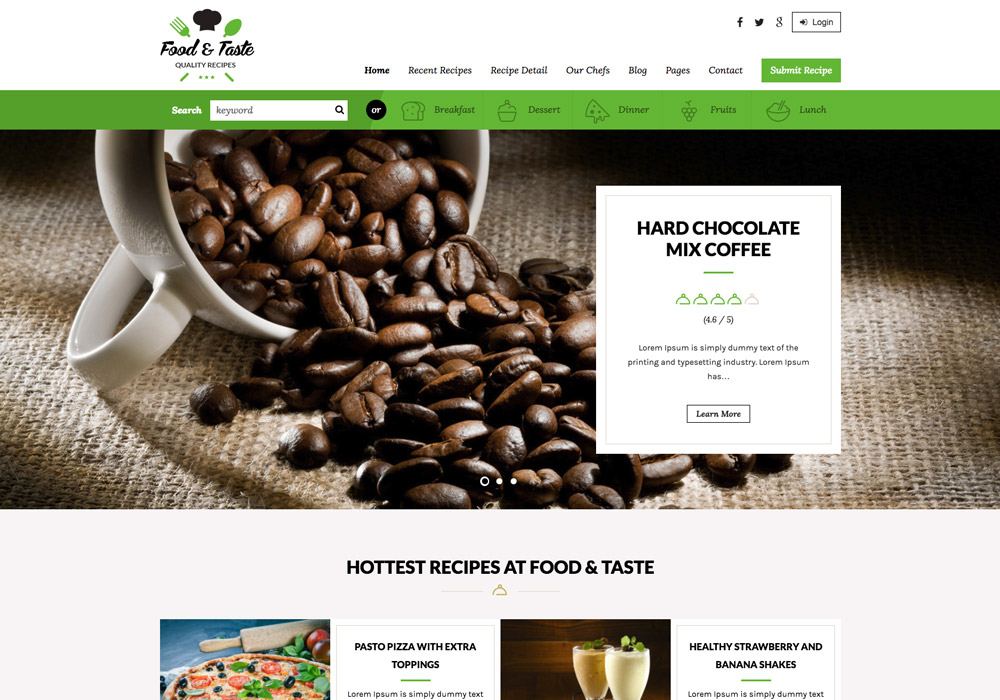 RecipePress_food_wordpress_theme