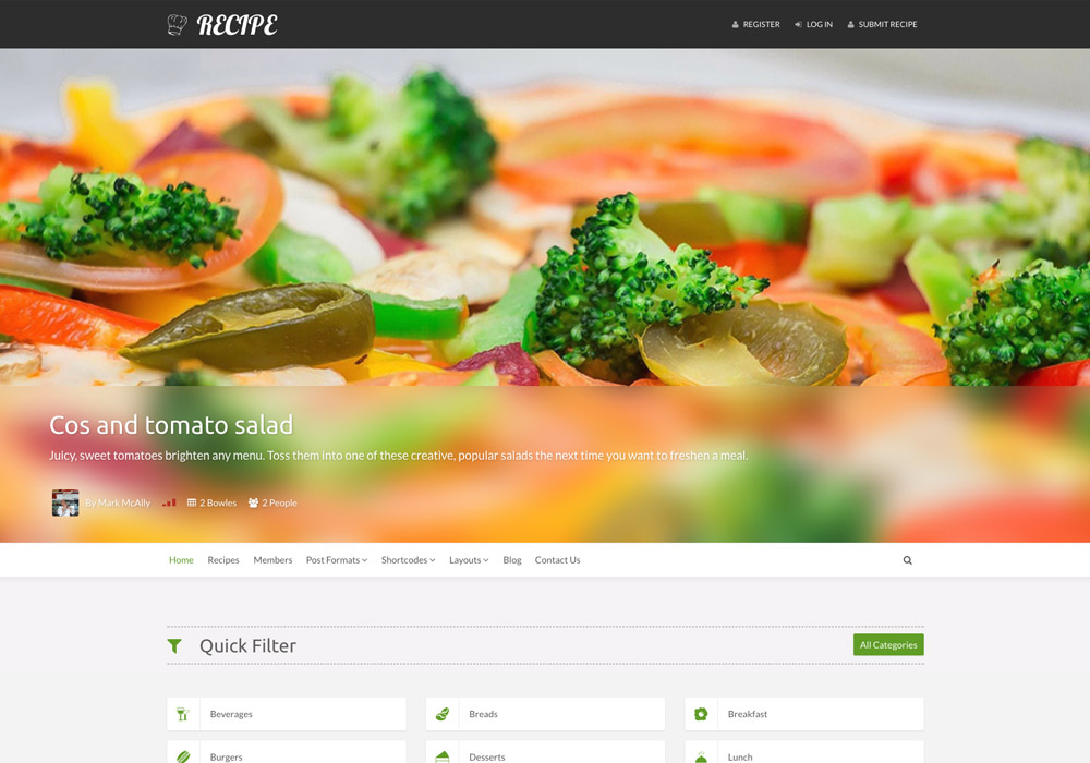Recipe_food_wordpress_theme