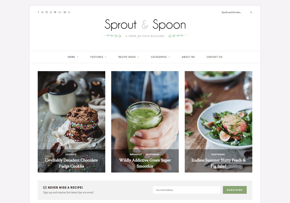 Sprout_food_wordpress_theme
