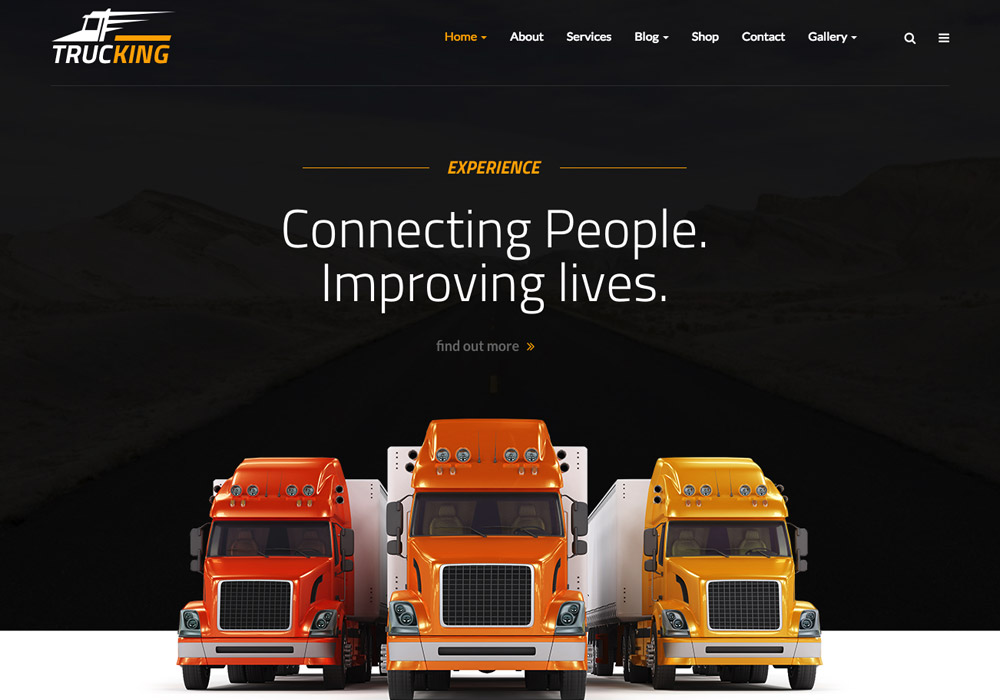 10 Best New Logistics and Transport WordPress themes 2017