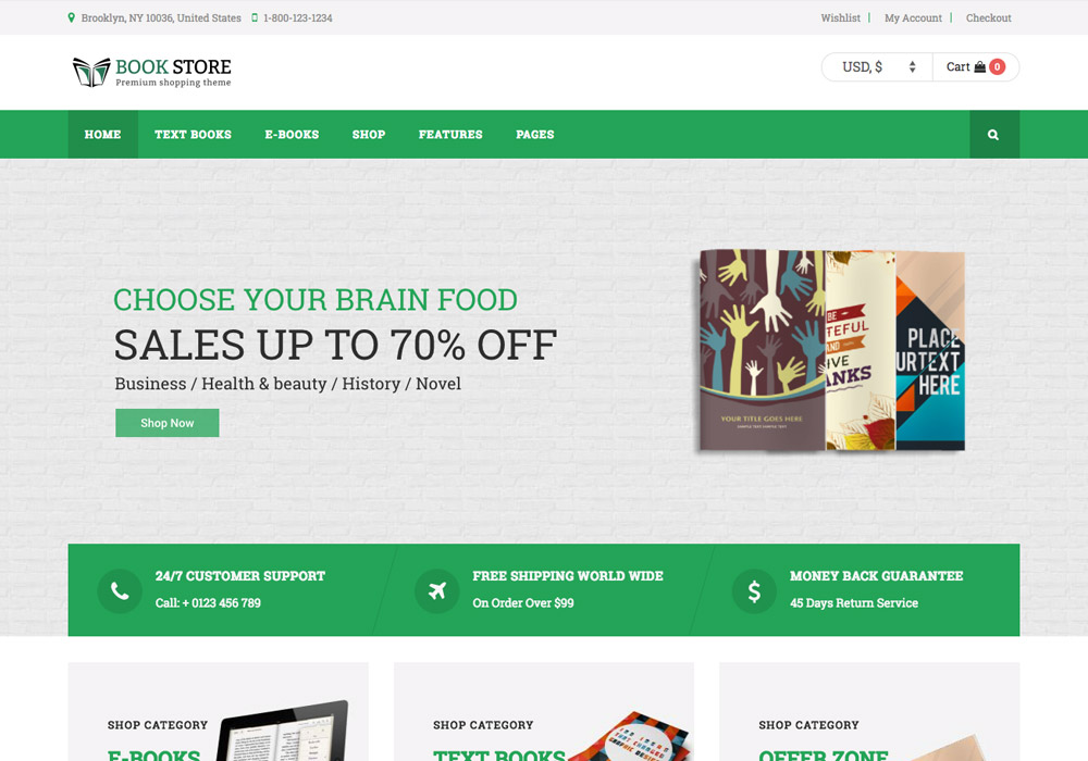 sell books online using these 7 best bookstore wordpress themes