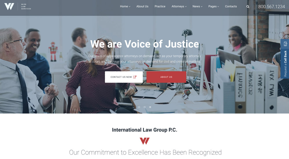 lawyer WordPress themes