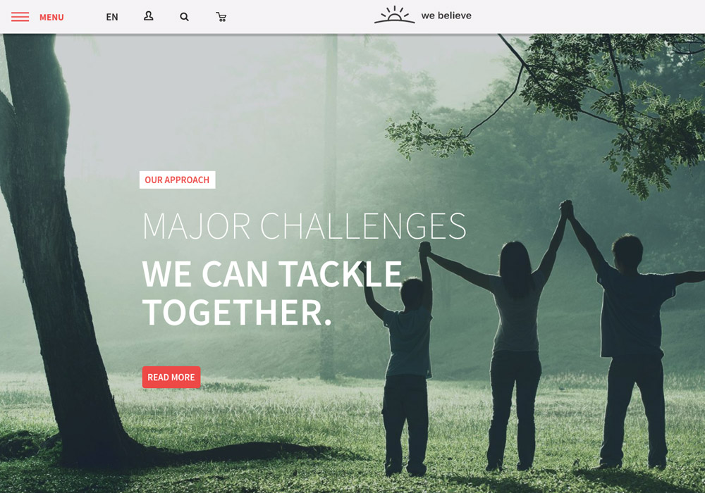 chruch wordpress theme