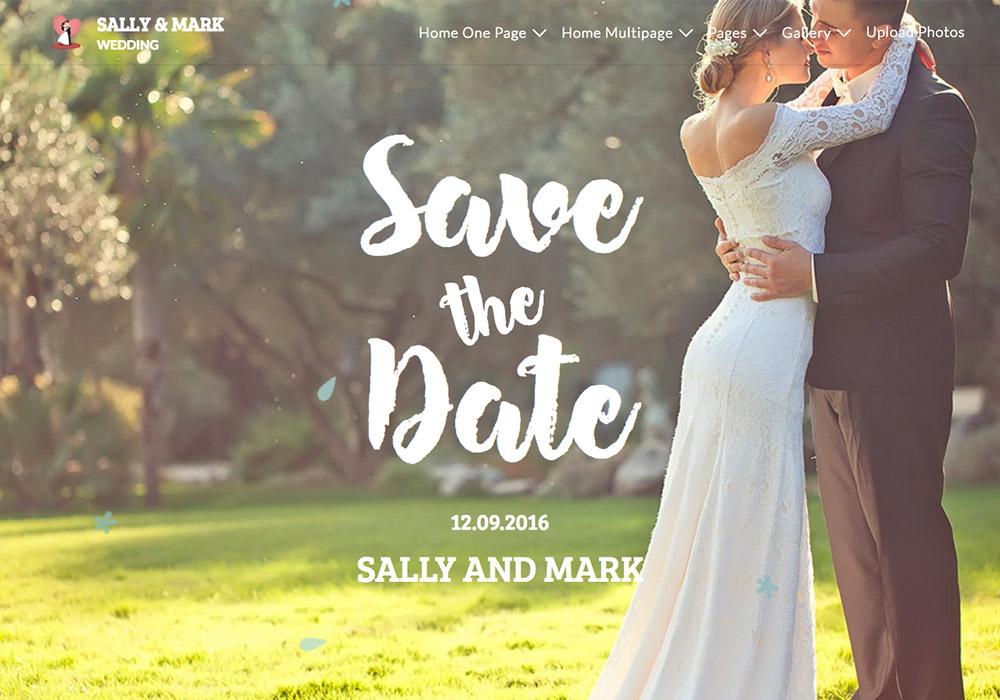 9 Beautiful New Wedding Wordpress Themes 2017