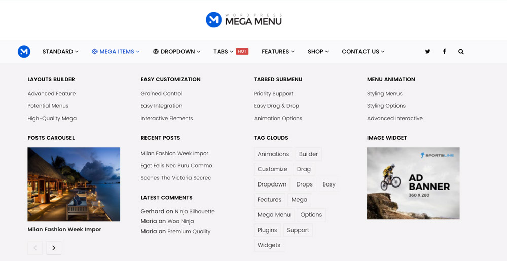 9 Best WordPress Mega Menu Plugins 2017