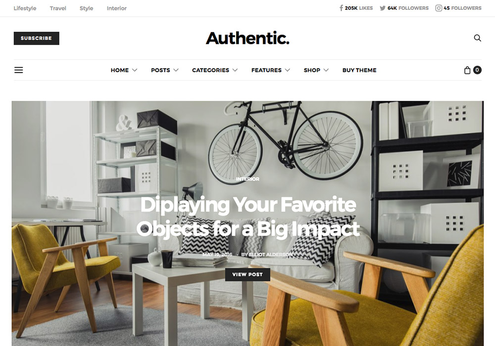 Lifestyle WordPress Themes