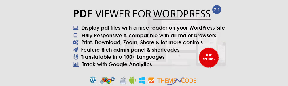 WordPress PDF viewer plugins