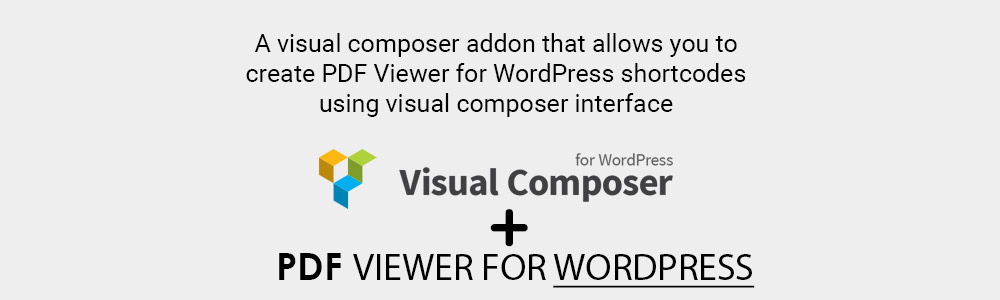 Visual Composer PDF plugin