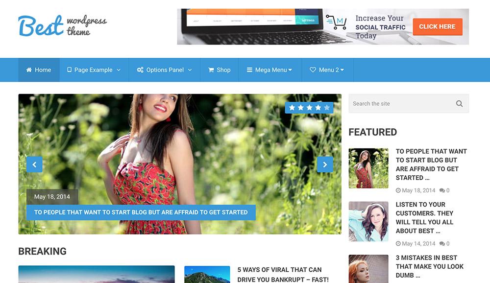 Best WordPress themes for tech blogs