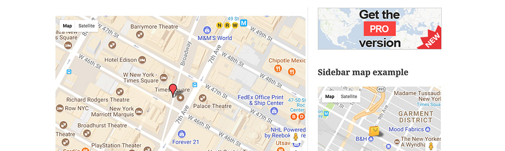 12 Best WordPress Google Maps plugins 2017