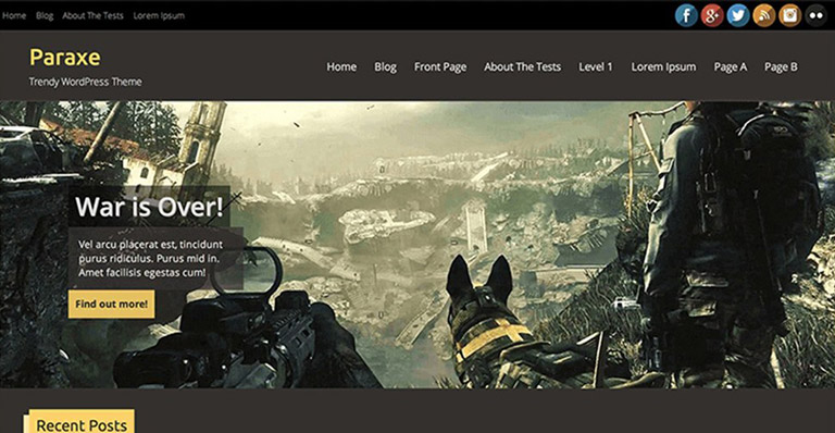 10 free wordpress gaming themes for 2018