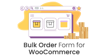 Bulk Order Form for WooCommerce